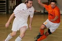 Futsalistům Materie se daří. Podruhé za sebou jasně vyhráli.