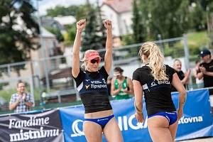 Chodov hostil Uniqua český pohár v plážovém volejbale