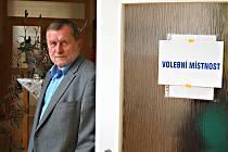 Starosta Kraslic Zdeněk Brantl u komunálních voleb.