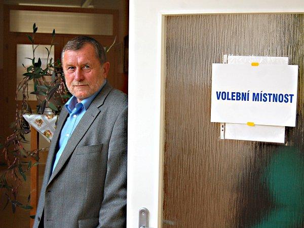 Starosta Kraslic Zdeněk Brantl ukomunálních voleb.