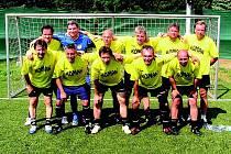 Obhájci prvenství, stará garda FK baník Sokolov
