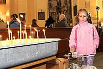 SBÍRKU NA ZVON Chodov zahájil loni v květnu v rámci akce Noc kostelů.  Lidé stále přispívají.
