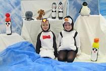 Děti se ocitly na severním pólu.