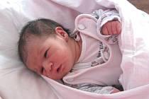 Jennifer Horňáková z Rotavy při porodu vážila 2,600 kg.