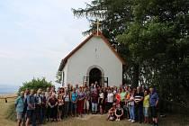 Pouť ke kamenické kapli má svou tradici.