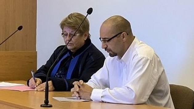 Jiří Kantor před plzeňským krajským soudem