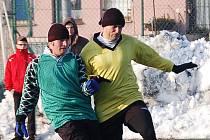 Zimní turnaj SSZ: Sokol Citice (ve žlutém) - Olympie Březová