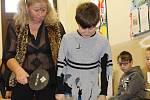 Svatavští školáci si zase po roce jeden den užili Čertí školu.