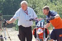 Loket hostí mistrovství světa v motokrosu