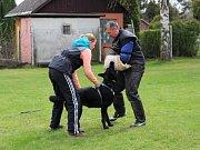 Výcvikového víkendu se zúčastnilo dvanáct dětí a mladých lidí z kraje ve věku od 7 do 20 let.