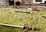 Obytný dům vyhořel v Lomnici na Sokolovsku