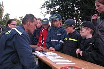 Závody mladých hasičů v Březové