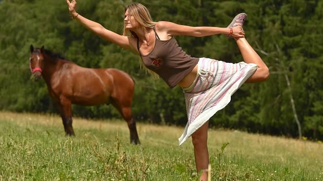 TATIANA ROZSYPALOVÁ, cestovatelka a cvičitelka.