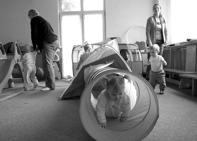 V BUkovanech se děti mohou vydovádět v novém Mateřském centru