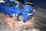 V kraji se stala téměř čtyřicítka nehod.