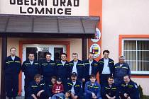 Sbor dobrovolných hasičů v Lomnici čítá patnáct členů.