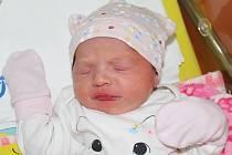 Viktorka Zburníková z Hroznětína se narodila 7. listopadu