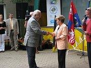 Slavnostní udílení cen Vesnice roku 2009.