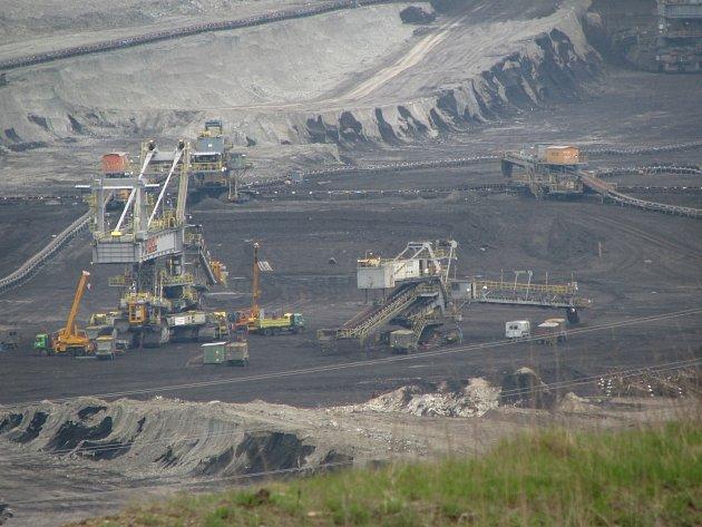 Sokolovská uhelná, lom Jiří