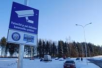 Nové parkoviště u sídliště Michal