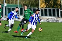 Přípravné utkání na umělé trávě v Sokolově, FK Baník Sokolov - TJ Jiskra Domažlice 2:1