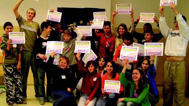 Konference žáků 9. ročníků.