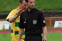 Divize: FK Baník Sokolov B - FC Chomutov