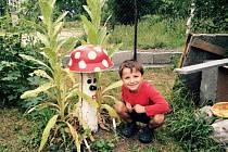 KOUZELNÁ zahrada Marcely Höslové těší malé děti i dospělé, fantazii změnila ve skutečnost