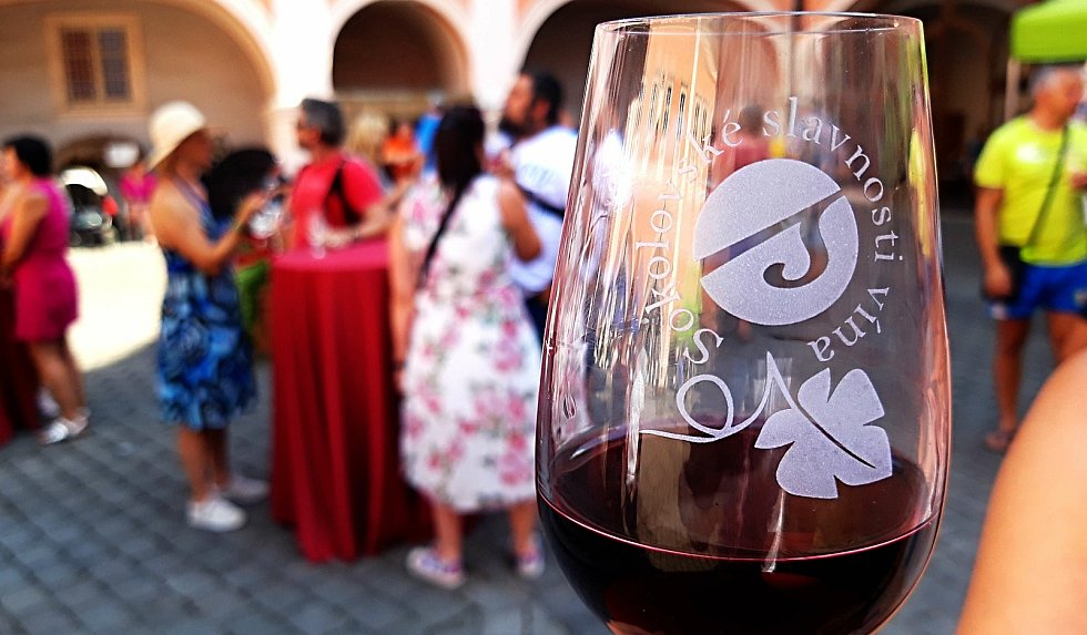 Slavnosti vína se vydařily.