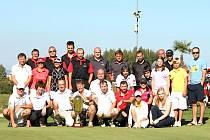 Účatníci turnaje West Bohemia Golf Cup v Sokolově