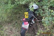 V lokalitě Špic havaroval v pátek odpoledne motorkář.