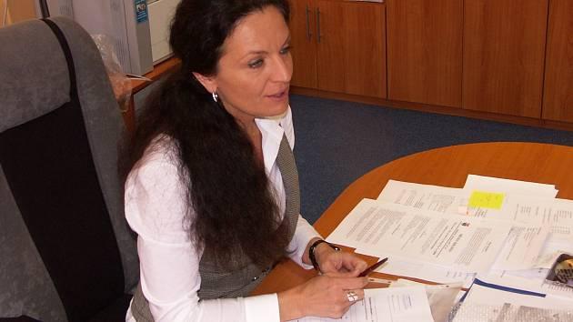 Bývalá starostka Krásna Lenka Sidorjaková
