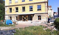 Městská střední škola v Kraslicích.