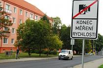 Ulice Sokolovská v Sokolově
