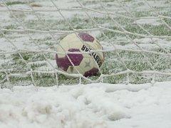 Ilustrační foto - Fotbal zima