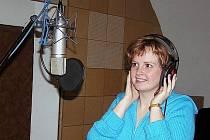 OLGA MAŠKOVÁ má krásný hlas. Dokáže ho využít nejen na koncertech, ale také ve studiu.