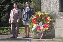 V Sokolově se pietní akty konaly v úterý na čtyřech místech