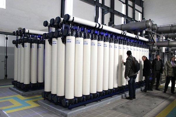 Bezmála tři stovky filtračních bloků tvoří jádro celé jednotky.