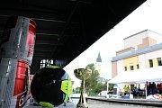 Živý stolní fotbálek v Kraslicích