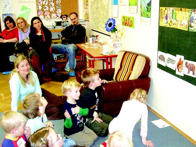 Na základní škole v lokti se konalo již třetí setkání předškoláků