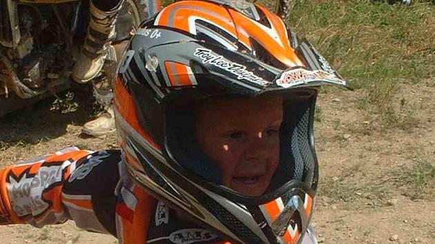 Mladíček Paulus opět dokázal, že patří mezi nejlepší jezdce ve své kategorii.