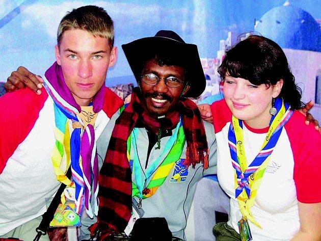 Světové Jamboree ve Velké Británii.