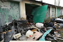 Sokolov zbourá 131 garáží v Jižním Lomu