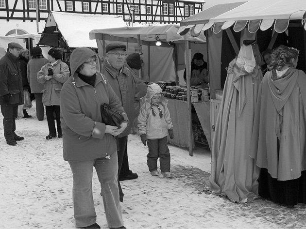 Vánoční trhy na statku Bernard.