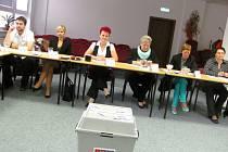 Komunální volby v Novém Sedle.