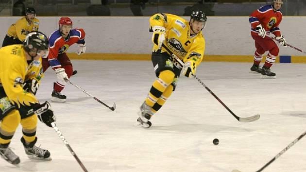 II. hokejová liga: Kobra Praha - Baník Sokolov