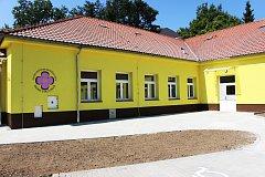 Denní stacionář Mateřídoušky  v Sokolově vznikl přestavbou školní družiny bývalé 4. základní školy.