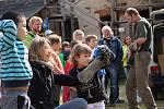 Program akce Hurá na hrad zaujal jak děti, tak dospělé.