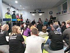 Centrum prevence sokolovské MP, kam Jarka přišla mezi studenty a rodiče