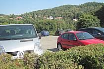 U benziny zaplatíte během kulturních akcí za parkování 100 korun.